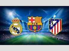 Real Madrid, Fc Barcelona y Atletico de Madrid ganan sus