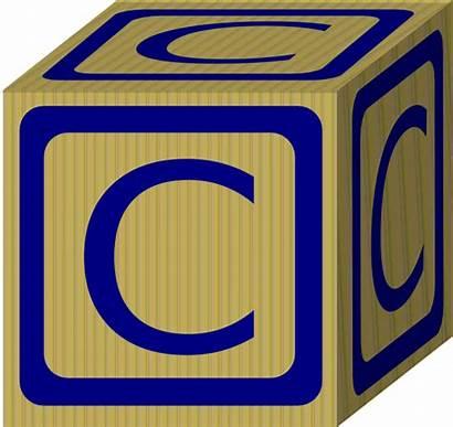 Alphabet Block Clip Clker Clipart Letters Cliparts