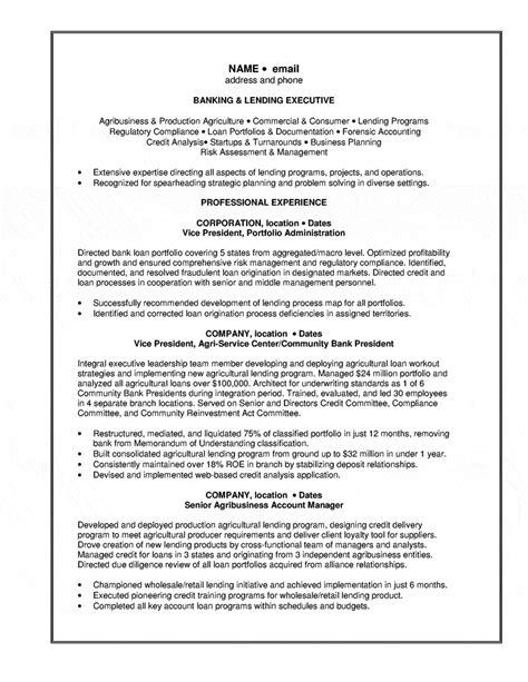 Banking Resume Exles by Sle Resume Banking