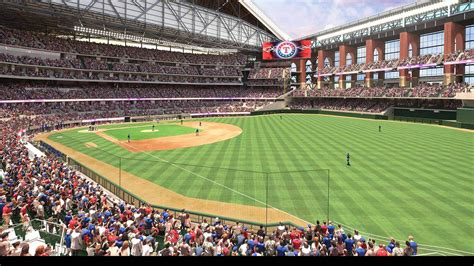 See renderings of the new Texas Rangers' stadium set to ...