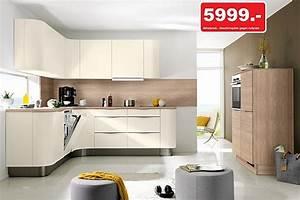 Nolte Küchen Fronten : nolte musterk che nolte einbauk che programm soft lack echtlack front in magnolia matt ~ Orissabook.com Haus und Dekorationen
