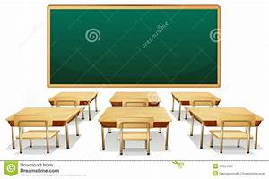 Classroom stock vector. Illustration of clipart, isolated ...