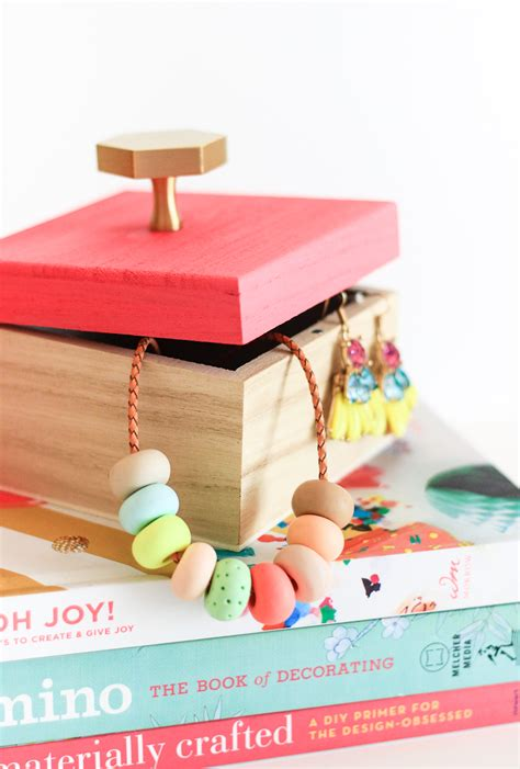 10 Minutes Or Less Diy Jewelry Box  The Crafted Life