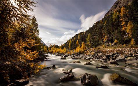 river, Autumn, Nature Wallpapers HD / Desktop and Mobile ...