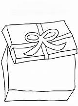 Coloring Gift Box Pages Boxes Ribbon Christmas Drawing Present Children Getdrawings Getcoloringpages Popular sketch template