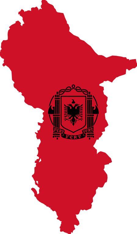 fileflag map  albania  svg wikimedia commons