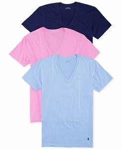 Polo V : polo ralph lauren v neck t shirt 3 pack for men lyst ~ Gottalentnigeria.com Avis de Voitures