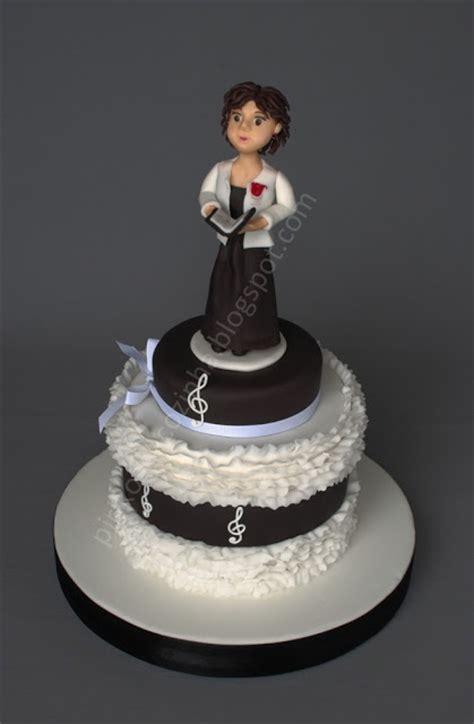 Choir Singer Cake Pirikos Na Cozinha  Cake Ideas