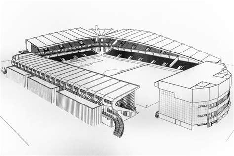 Kleurplaat Voetbalstadion by Kleurplaat Feyenoord Stadion Opel Feyenoord Gajemee