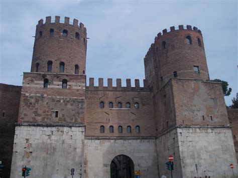 Porta Di San Sebastiano by Museo Delle Mura Porta San Sebastiano Foto Di Museo