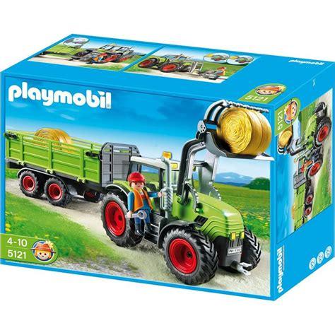 playmobil auto mit anhänger playmobil 5121 riesen traktor mit anh 228 nger
