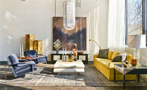 Two Color Living Room by How To Design With And Around A Yellow Living Room Sofa