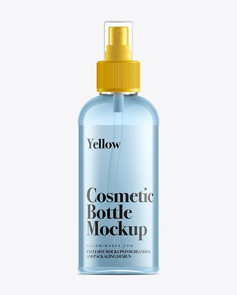 We have a rich list of different amazing bottle mockups for your design works. 100ml Clear Plastic Spray Bottle Mock-Up in Bottle Mockups ...
