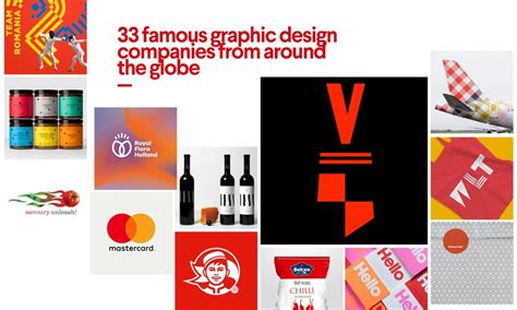 graphic design firms 33 graphic design companies from around the globe