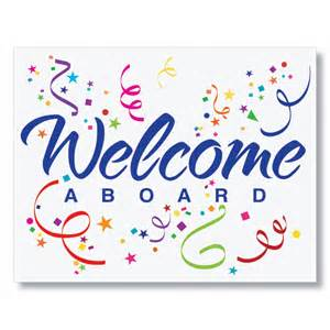 New Employee Welcome aboard Sign
