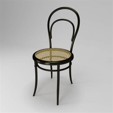 3d Model Chair Thonet 14