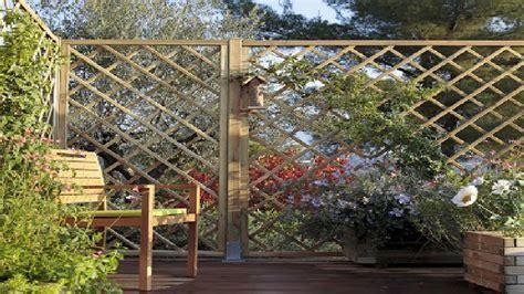 brise vue  claustra pour jardin  terrasse
