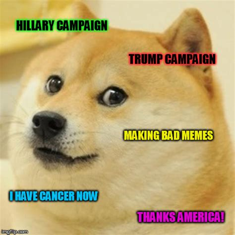 Make A Doge Meme - make doge head of state department so he can run for president in 4 years imgflip