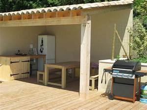 Cuisine D Ete : cuisine d 39 t la piscine photo de la souche truinas ~ Melissatoandfro.com Idées de Décoration