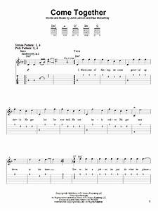 Come Together By The Beatles Easy Guitar Tab Guitar Instructor