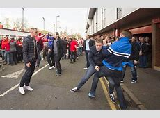 Football Hooligan Pictures Liverpool and Chelsea fighting