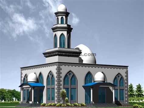 model desain masjid minimalis modern unik terbaru  model desain rumah minimalis