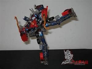 DOTM BattleBlades Optimus Prime toy | Transformers Custom ...
