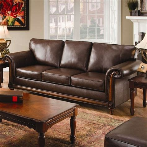 Hide A Bed Sofas by Simmons Upholstery Franklin Hide A Bed Bonded Leather