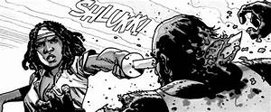 The Walking Dead Comic Michonne