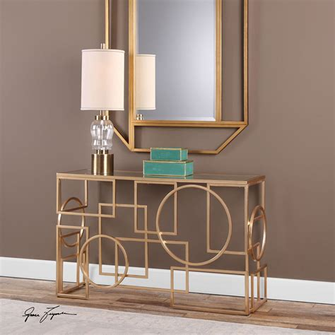 Uttermost Table Ls Uk by Uttermost Metria Gold Console Table On Sale