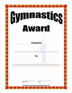 Attendance Template For Teachers Certificate Of Achievement In Gymnastics Three