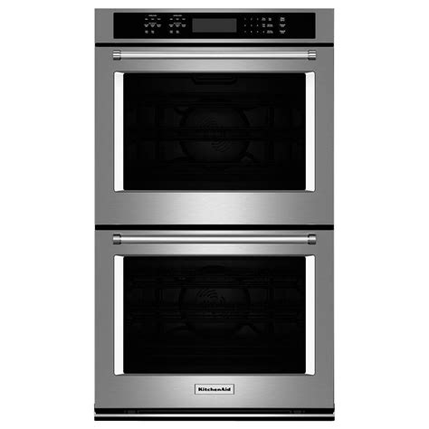 outdoor cooking area kitchenaid 30 in electric wall oven self cleaning
