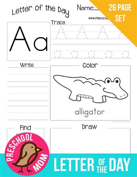 alphabet preschool printables preschool mom