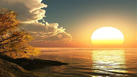 Sun Rising Hd Free Wallpaper For Desktop Hd Wallpaper