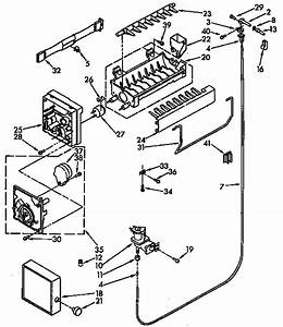Kenmore 106 9638310 Ice Maker Wire Harness