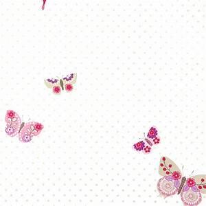 Baby Tapete Mädchen : caselio tapete schmetterlinge rosa lila 39 girls only 39 bei ~ Michelbontemps.com Haus und Dekorationen