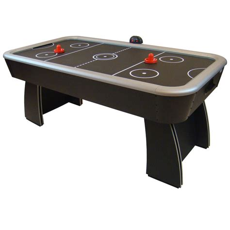 air hockey table game gamesson 6ft spectrum air hockey table game gamesson