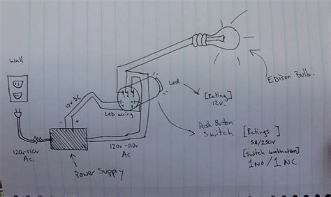 4 Best Image Of Dc Light Wiring Diagram by Power Supply Wiring Ac Switch With Dc Led Electrical