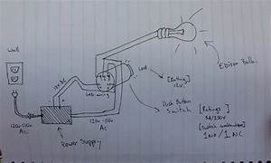 Power Supply - Wiring Ac Switch With Dc Led