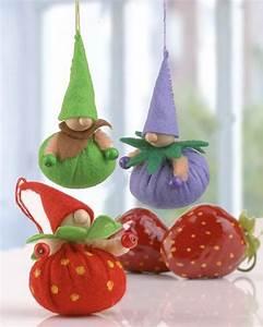 Filz Wichtel Basteln : erdbeer wichtel aus filz basteln basteln wichtel basteln und wichtel ~ Pilothousefishingboats.com Haus und Dekorationen