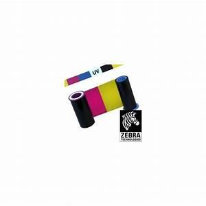 Imprimante Carte Pvc : ruban uv couleur ymcuvk zebra pour imprimante carte ~ Dallasstarsshop.com Idées de Décoration