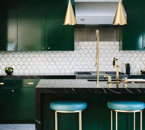trends  stay green gold   kitchen bathroom
