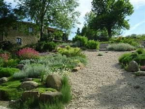 jardin mediterraneen mediterraneen jardin autres With delightful amenagement jardin exterieur mediterraneen 11 bassin de jardin