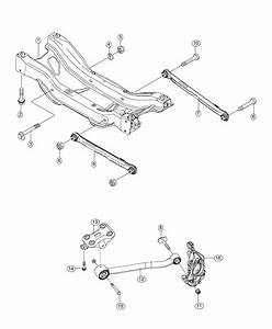 2018 Jeep Compass Control Arm Assembly  Rear  Left  Left