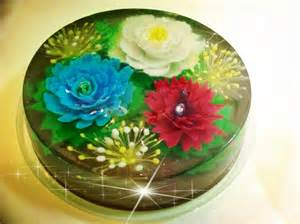 Flower Jelly Cake