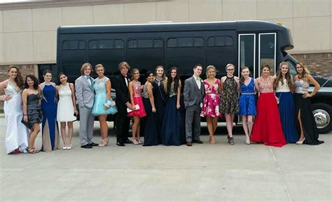 party bus prom prom party bus okc black limo party bus rental
