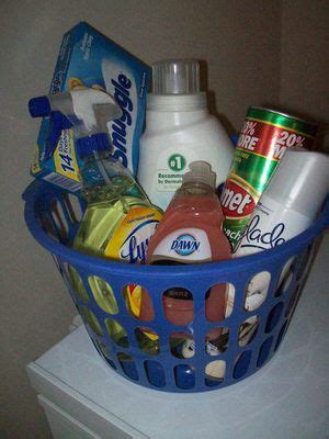 Household Cleaning Gift basket | Silent auction gift