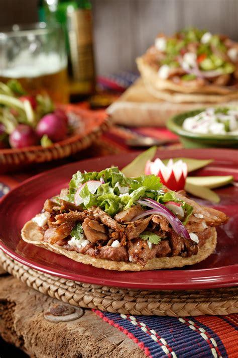 Pork roast with balsamic cranberry sauce pork. Pork Tostadas | Recipe (With images) | Pork, Pork recipes ...