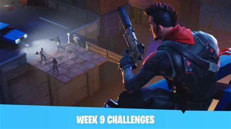 Fortnite Week 9 Challenges Leaked