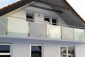 Milchglas Für Balkon : balkongel nder edelstahl glas ~ Markanthonyermac.com Haus und Dekorationen